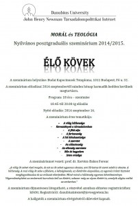 EloKovekSzeminarium2014