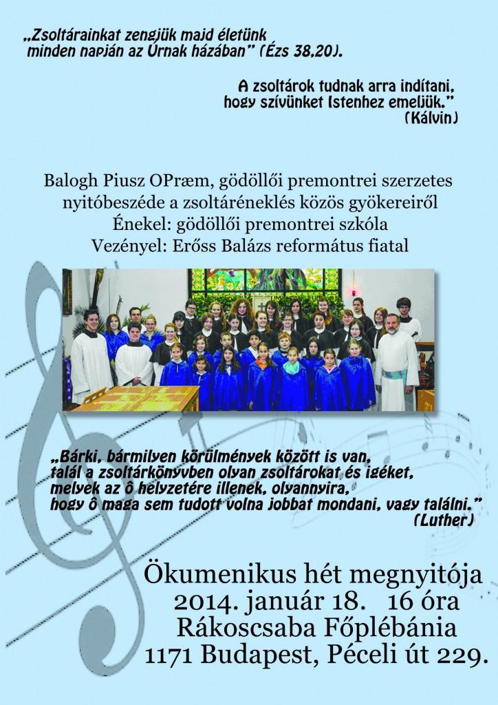 okumenikus plakat