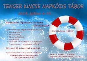Tenger kincse 2015 plakat